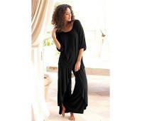 Женская пижама Lascana 48/50 черный (12154100289404)