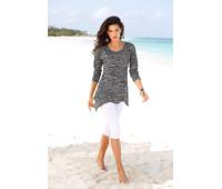 Женская рубашка BEACH TIME 48/50 серый (12225200776404)