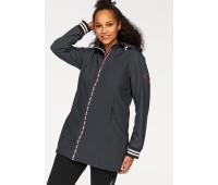 Женская спортивная куртка Ocean Sportswear 50 черный (1247350010542)