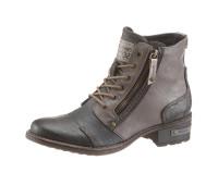 Женские ботинки Mustang Shoes 36 коричнево-серый (1253180115436)