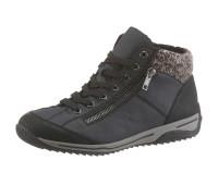 Женские ботинки RIEKER 36 темно-синий (1253200003036)