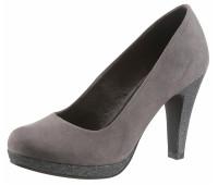 Женские туфли Marco Tozzi 36 серый (1254330010636)