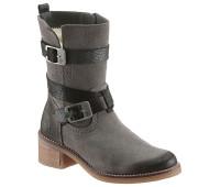 Женские ботинки Jana 36 серый (1254990010636)