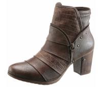 Ботинки Mustang Shoes 36 коричневый (1255010006636)