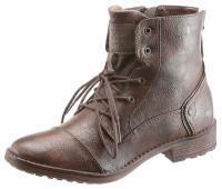 Женские ботинки Mustang Shoes 36 коричневый (1255030006636)