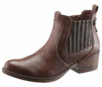 Ботильоны Mustang Shoes 36 коричневый (1255050006636)