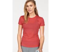 Женская спортивная футболка Adidas XL оранжевый (1260120021813)