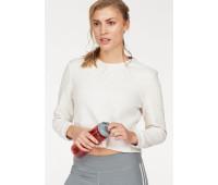 Женская спортивная кофта Adidas L белый (126021000113)