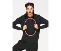 Женская толстовка с капюшоном Adidas L черный (126041002893)