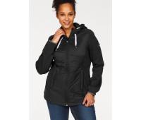 Женская спортивная куртка Polarino 48 черный (1260870010540)