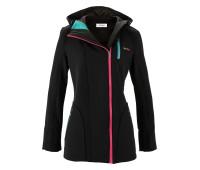 Женская куртка для улицы Sheego 48 черный (1269230028940)