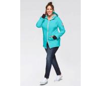 Женская куртка Sheego 50 бирюзовый (1269260002142)