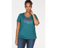 Женская футболка Ocean Sportswear 48/50 черный (12826000412404)