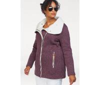 Женская спортивная куртка Polarino 52 бордовый (1290330188844)
